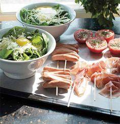 Denne brunch er nem; alt tilberedes i ovnen på én gang