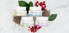 Introducing Avon nutraeffects, the new skin care collection, suitable for sensitive skin, hypoallergenic, dermatologist tested and dye-free made with chia seed, nature's perfect health-packed powerhouse!