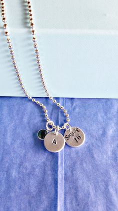 Sweet 16 Necklace Birthday Gift / by HandStampedTrinkets on Etsy