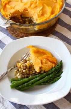 shepherds pie lentil sweet potato