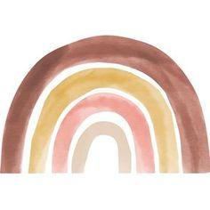 Studioloco XXL Rainbow Wall Sticker Pink