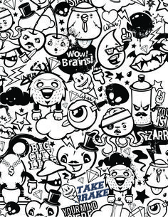 Online graffiti street art artists coloring page for - Coloriage graffiti ...