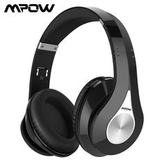 ab3a4996a66 $34.88 | Mpow 059 Bluetooth Headphone Stereo Wireless Hi-fi Sound Earphone  With 15 Hours Playtime Noise Canceling Mic For iPhone Xiaomi