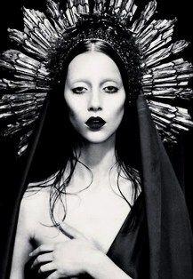 Gaga as Mary Magdalene.