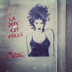 Street Art - MissTic - Paris Mai 2014