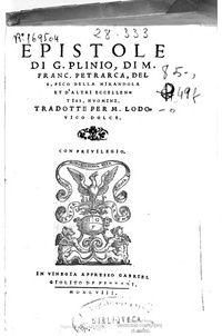 L'epistolario Petrarchesco conta oltre 500 lettere in latino racchiuse in 5 raccolte. Tramite questa opera Petrarca narra l'intero percorso della sua vita, dichiarando una confessione diretta ed uno sfogo esplicito. Così facendo dà luogo ad una rappresentazione idealizzata della propria biografia.  Successivamente al ritrovamento di tre epistole di Cicerone nel 1345 pensò di creare a sua volta una raccolta delle proprie che già concepiva come opera letteraria; decise in seguito di…