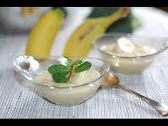 Mousse de plátano fácil - YouTube