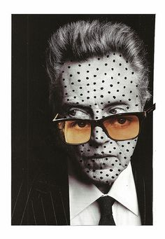 Walken | Cut & paste collage (magazine cuttings, marker) | Lynn Skordal | Flickr
