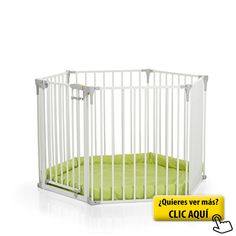 Baby Vivo Colch/ón para Parque para Ni/ños con Color de Pl/ástico Puertas Corralito Plegable Puerta Bebe Barrera de Seguridad Jugar Pastel