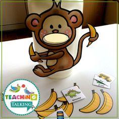 S Articulation Activities Speech Therapy by Teaching Talking Articulation Activities, Animal Activities, Speech Therapy Activities, Family Game Night, Family Games, Banana Games, Play Therapy Techniques, Preschool Classroom, Kindergarten