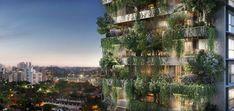 Em meio ao concreto, São Paulo terá o primeiro prédio residencial com Mata atlântica na fachada