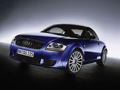 2005 Audi TT Quattro Sport - Front Angle - 1280x960 Wallpaper
