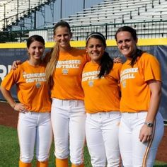 Lady Vols at the World Series!!!!!
