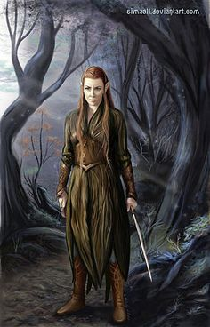 Tauriel woodland elf outfit. Dress with large waist belt and arm bracers