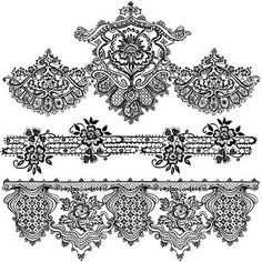 printable lace pattern (personal use only)
