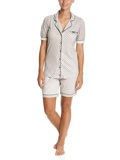 Milk & Honey Short Pyjama: VIVE MARIA Pyjama Marke: VIVE MARIA Modell: Milk & Honey Short Pyjama ProduktNr. 32894 Material: 50% Baumwolle 50% ...