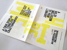Tim Ruxton's self-promotional type specimen-slash-personal ad