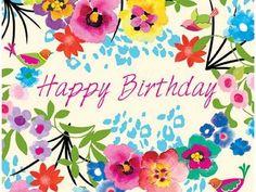 Happy Birthday Images for Her Happy Birthday Flowers Images, Birthday Images For Her, Happy Birthday Floral, Happy Birthday Pictures, Happy Birthday Greetings, Birthday Love, Happy Birthday Wishes For Her, Surprise Birthday, Birthday Gifts