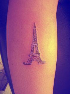 Tattoo: Tour Eiffel
