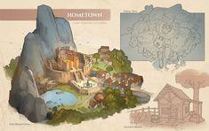 Feng Zhu Design: Term 3 Finals - Entertainment Design - Part 1 Fantasy City, Fantasy Map, Fantasy World, Bg Design, Game Design, Environment Concept Art, Environment Design, Rpg Map, Dungeon Maps