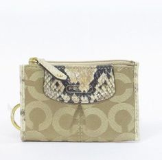 !@Best Buy Coach Signature Madison Op Art Mini Skinny Coin Wallet Case 46650 Natural    Price: $38.00    .Check Price >> http://loanoneday.com/sale/landingpage.php?asin=B008H7DQ4K