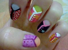 Cardigans - Nail Art Gallery by NAILS Magazine