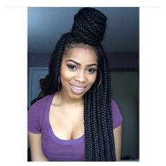 This Pin was discovered by :.Hannah ?✌???. Discover (and save!) your own Pins on Pinterest. | See more about Long Box Braids, Box Braids and Braids.