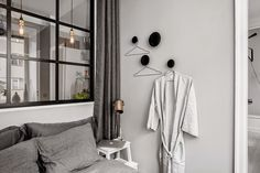 Shades of grey in a small living space