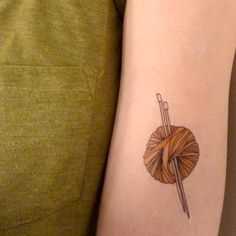 yarn temporary tattoo