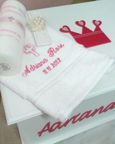 christening set for the gorgeous Ms Adriana Rose ...