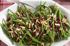 Like your green bean recipe sweet and tangy? These Balsamic-Glazed Green Beans with caramelized onions and almonds will be right up your alley.