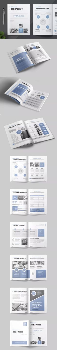 69 best Annual Report Templates images on Pinterest