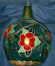 Resultado de imagen de garrafas con decoupajep