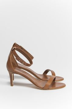 Kick Pleat | WOMAN BY COMMON PROJECTS Ankle Strap Sandal