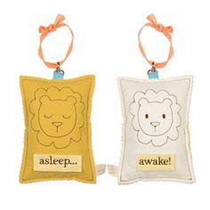 asleep/awake sign
