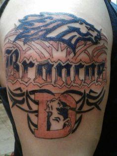 Bet he's wishing he went to a better tattoo artist...