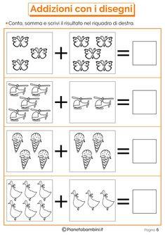 Risultati immagini per domino addizioni entro il Grade R Worksheets, Kindergarten Math Worksheets, Preschool Activities, Phonics Books, Singapore Math, Free Preschool, First Grade Math, Math For Kids, Math Lessons
