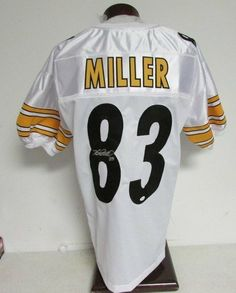 76c58c0b8 Heath Miller Pittsburgh Steelers Signed Autographed Jersey JSA W439131 .   129.00. Heath Miller Pittsburgh Steelers Signed Autographed Jersey JSA  W439131