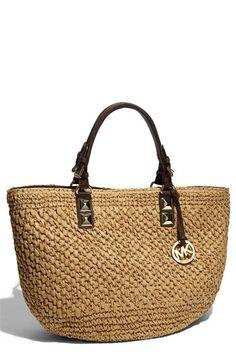 MK Straw Bag For Summer, Gimmmme