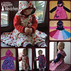 Sukienka z kapturem 74-134