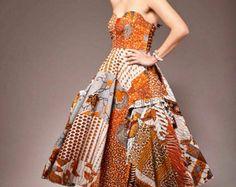 La Podot Quistt robe élégante Robe longue imprimé par Quistt