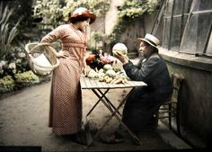 vintage everyday: Edwardian Era – Amazing Color Photos Show That Life in This Age is So Gently