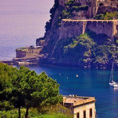 Coast of Italy..