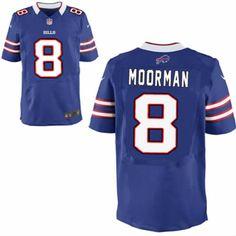 Brian Moorman Jersey Buffalo Bills #8 Men Blue Elite Jersey Nike NFL Jersey Sale