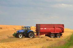 Erntezeit: Vorpommern ist abseits der Küste stark landwirtschaftlich geprägt.