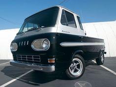 lowering a ford econoline pickup Vintage Vans, Vintage Trucks, Ford Classic Cars, Classic Trucks, Old Ford Trucks, Pickup Trucks, Automobile, Best Car Insurance, Cool Vans