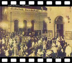CINE OLYMPIA VIVA! hoje é o centenário do cinema mais antigo do Brasil, em funcionamento.