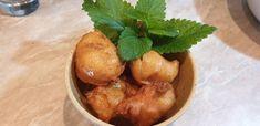 Loukoumades görög édesség Snack Recipes, Snacks, Pretzel Bites, Chips, Potatoes, Bread, Fruit, Vegetables, Food