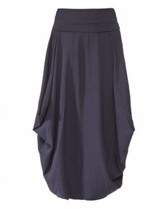 Graceful.  Would be great in a knit fabric... (Oska Phantom Haifa Drape Skirt.)
