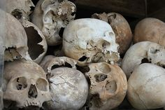 Cambodia suffered from a genocide during Khmer Rouge period in 1975
